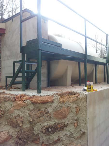 Los Santos - Ademuz. Depuración aguas residuales del municipio